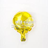 * golden *6 inch round aluminum film balloon pure aluminum foil balloons wedding venue