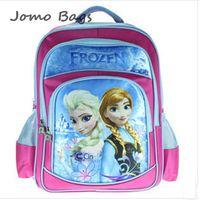 2014 children kids backpacks for girls,frozen anna elsa children's school bag,new cartoon backpacks boy  backpack gift z2420