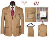 New 2014 Fall The Latest Men's Suits Fashion Men's Suits Men's Casual sports suit And Men's Banquet Party Suits (jacket + pants)