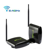 Digital STB Sharing 2.4GHz Wireless AV Sender TV Audio Video Transmitter Receiver Set with IR Signal Extension Cable PAT-260