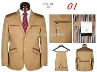 2014 Autumn Men's groom suit, Fashion Men's Suits Casual Sportswear Men's Tuxedo suit (Jacket + Pants) Free Shipping Promotion