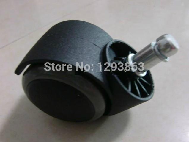 Novo 360 grau durável da roda giratória de borracha para médico e enfermeira cadeira de substituição(China (Mainland))