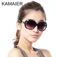Carmine vintage big box fashion sunglasses fashion female pearl sunglasses anti-uv glasses