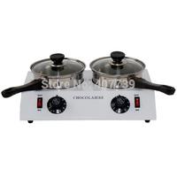 double pots chocolate furnace duplex melting furnace baking tools chocolate melting pot