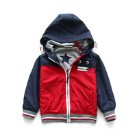 New children's outerwear 2014 autumn baby clothing 100% cotton boys jacket spring kids outerwear boys coat