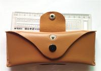 2014 the new arrival/ optical glasses case / glasses box can wear belt,PU glasses box 100pcs/bag
