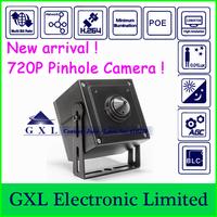 GXL,1.3 Megapixel HD IP Camera,H.264 720P,MINI Pinhole Security Camera,CS5720P-L (Mini Camera)