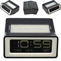 Digital Snooze Alarm Clock Backlight LCD Display w/ Calander Date Temperature