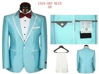 2014 Fall Fashion Men wedding suit Men's Suits And Trousers Casual Men's sports suit Perfect Men Wedding Suits (Jacket + Pants)