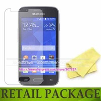 For Samsung Galaxy Ace 4 NXT G313H screen protector film guard,with retail package,free shipping,(2 film+2 cloth),high quality