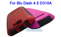 Protective PC + TPU Case Cover For BLU DASH 4.5 D310A Cell Phone High quality Back case skin Shell & 2Colors