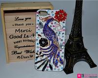 New Design Ballerina drip Rhinestone PC paste diamond Hard back case for Samsung Galaxy S4 I9500