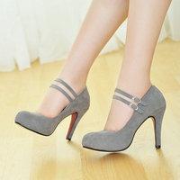 Big size wholesale spring 4 colors fashion Party platform high heels women shoes
