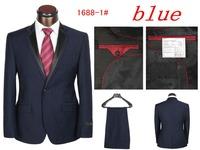New 2014 Fall Fashion New Men's dress suits Men's Suits And Pants Men's sports suit Top Wedding Garment (Jacket + Pants)