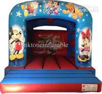 Wholesale - Mickey disnney mouse cartoon inflatable bouncy castle kids toys Activity & Amusement Toys