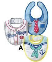 Baberos Baby Bibs Shopping Festival 100% Cotton 1pcs Eco-friendly Child Baby Supplies Waterproof Formal Dress Style Bib Big Bibs