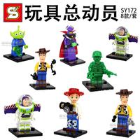toy Story block Figures Building Blocks Sets Model Minifigures Toys Compatible