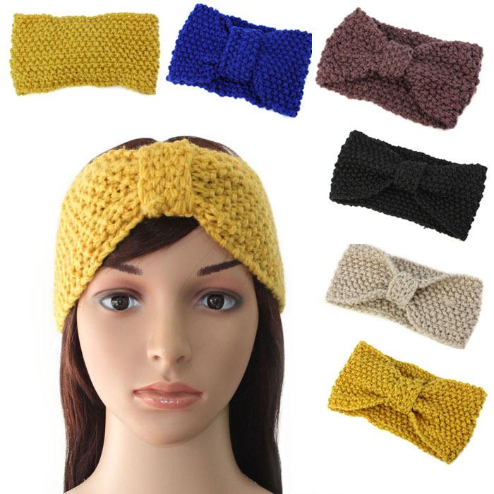 Knitting Pattern Ear Warmer Band : Popular Crochet Ear Warmer Headband Aliexpress