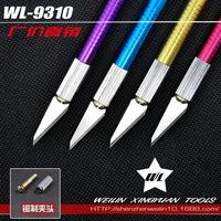 Phone factory direct metal foil cutter pen knife chisel knife cutter paper cutting board tool
