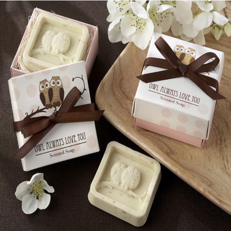 40Sets/Lot Mini Owl Soap Wedding Gifts For Guests Kits Party Supplies Artigos Para Festa Infanti Souvenirs Baby Shower Boy(China (Mainland))