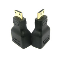 Mini HDMI Cable Adapter Mini HDMI Male to HDMI Female Connector 10pcs