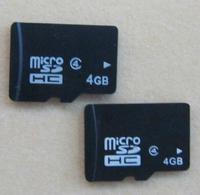 [Free Shipping] 100x 4GB MicroSDHC CARD MicroSD Card mobile phone memory cards 4gb