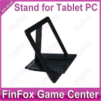 100pcs a lot Wholesale Universal Portable Folding Stand Holder for Tablet PC Black