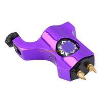 New Purple tattoo machine Alloy Rotary Motor Tattoo Machine Gun for Liner Shader Purple Free shippingBrand New