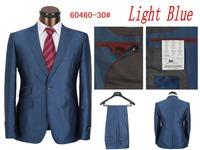 New 2014 Fall New Men's Suits Fashion Men Suits And Men's Pants Casual Monochrome Sportswear men wedding suit (Jacket + Pants)