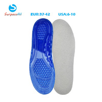 Women Soft Orthotic Orthopedic Arch Support Massaging Silicone Gel Sports Running Basketball Shoe Insole Pad Cushion For Women