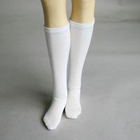 11# ACC White Socks/Stockings 1/4 MSD DOD BJD Dollfie