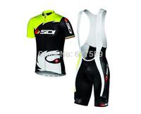Ropa Ciclismo SIDI 2014 Fluo Cycling Short (bib)Kit Cycling Short-sleeved Jersey/ Cycling (bib)Shorts Cycling Sportswear