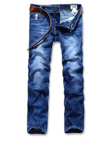 2014 New Fall Fashion Explosion Models Simple Jeans Men's Denim Trousers leisure Free Shipping Promotion