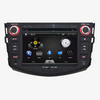 7inch Car DVD Player for Toyota RVA4 2006-2012 +GPS Navigation+Bluetooth+FM/AM Radio+AUX