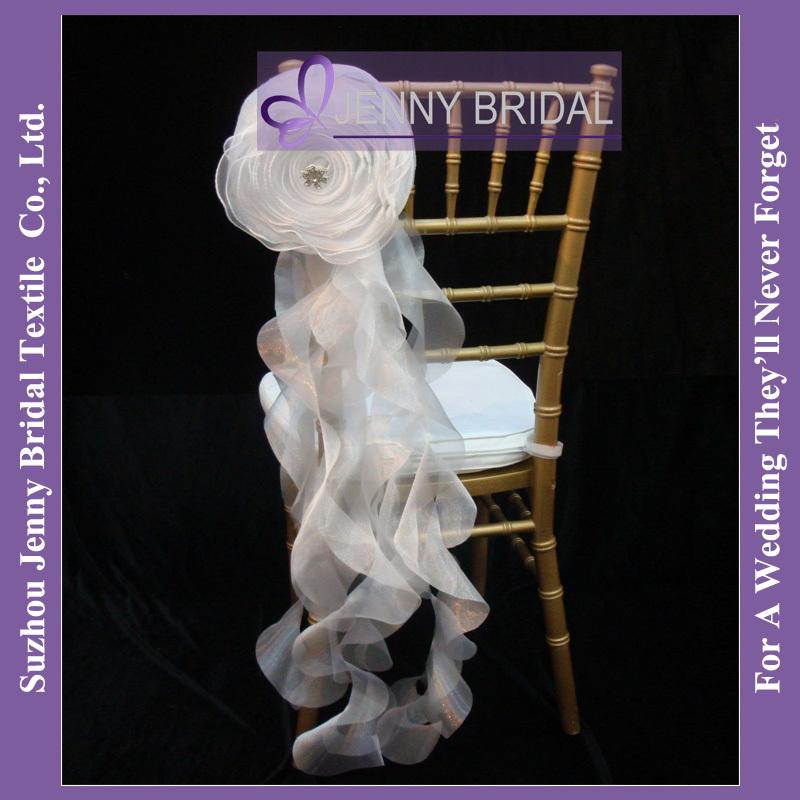 C181A New Hot sale fancy chiavari ruffled wedding chair cover(China (Mainland))