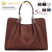 2014 Fashion famous Designers Brand women handbag Casual high quality shoulder bag genuine leather women's messenger bags totes