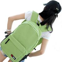 New style Girl Women Backpack Student School Bag Canvas bag Travel Rucksack Korean candy color backpack casual bag