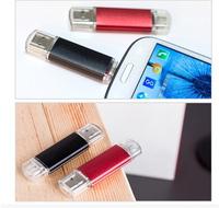 New 8GB 16GB 32GB Smart Phone Tablet PC USB Flash Drive pen drive OTG external storage micro 64g usb drive memory stick usb 2.0