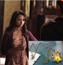 vampire diaries 6pc/lot bonnie bennett colar pingente cristal inspirada bruxa jóias colar, sempre filme(China (Mainland))