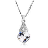 Pendant fashion trumpet flower crystal  accessories