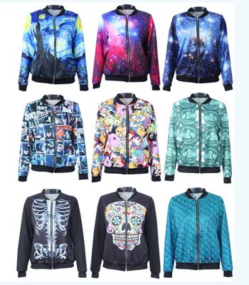 [해외]2014 (11) 디자인 패션 여성 긴 Retail 데님 재킷 여성 만화 ..