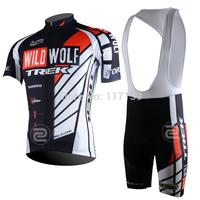 NEW! 2014 wildwolf Team Cycling Jersey/Cycling Wear/Cycling Clothing short (bib) suit-wildwolf-1D Free Shipping