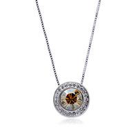 Fashion czech  austrian crystal rotating  high quality elegant pendant accessories