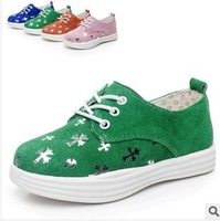 Boys and girls in autumn 2014 genuine leather shoes, casual shoes, fashion shoes for children, free shipping
