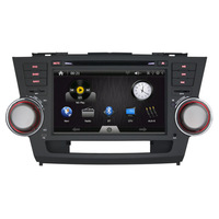 8inch Car DVD Player for 2008-2011 Toyota Highland Special Double Din Radio / GPS Navigation / Bluetooth / AUX / Free Map