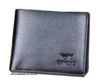 2Piece/Lot  Fashion Men's  Genuine/Cowhide Leather Short/vertical Design  Wallets/Purse/Money Clips   WA-021