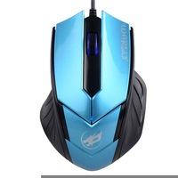WARWOLF T-3 USB PC Laptop Computer Wired Gaming Mouse - Red