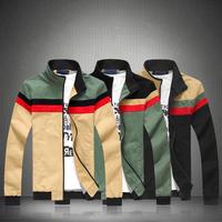 5XL New plus size  patchwork color individual casual jackets men autumn winter spring men jackets fashion Men's Coats >Jackets