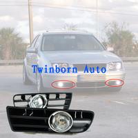 Fog Lamps For 1999 - 2004 VW Golf MK4 GTi TDi Front Lower Grill Clear Lens Lamp Fog Lights Daytime Running Light For Cars V70