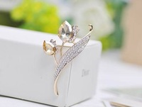 XZ090 min amount is $9 Collar buckle collar blouse upscale clip brooch